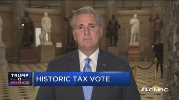Rep. Kevin McCarthy: Check your paycheck after tax bill passes