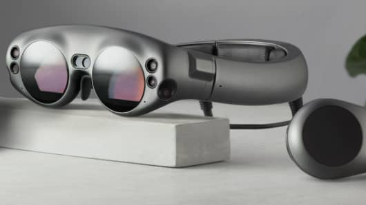 Magic Leap VR glasses