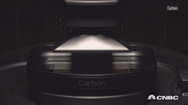 Baillie Gifford, Fidelity, Adidas are investing in Carbon 3-D printers