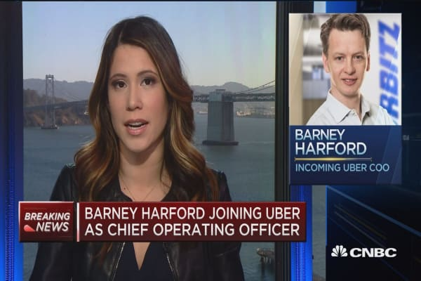 Former Orbitz CEO Barney Harford named new Uber COO
