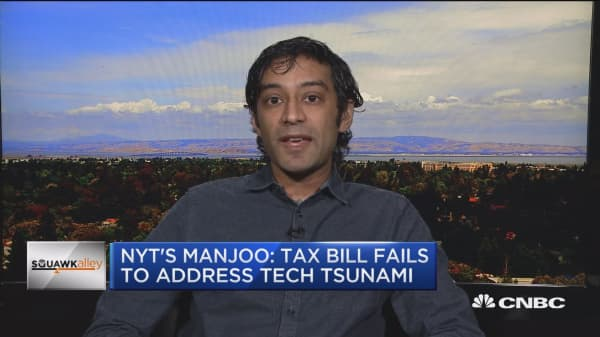 NYT's Manjoo: GOP tax bill doesn't address technological change