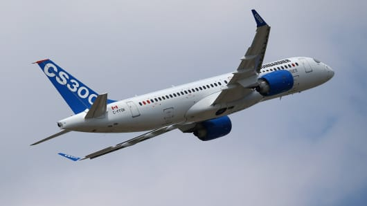 U.S. upholds 300 per cent tariff on Bombardier C Series jet