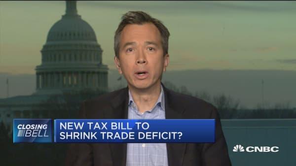 New tax bill to shrink trade deficit?