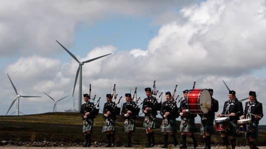 Scots set for renewables record