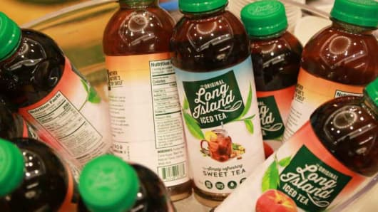 Iced Tea Company's Stock Price Triples after Rebranding to