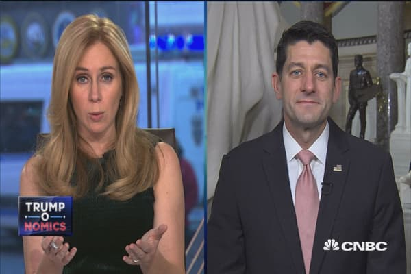House Speaker Paul Ryan: The Democrats would love nothing more than a government shutdown