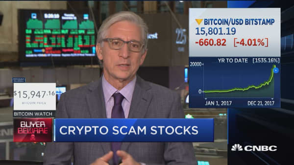 Former SEC chairman weighs in on how to regulate the crypto mania