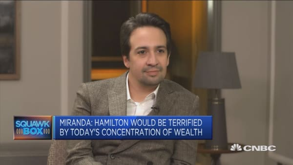 Alexander Hamilton 'created this financial system,' musical's creator says