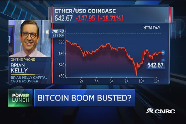 Drop in bitcoin is 'normal volatility': Expert