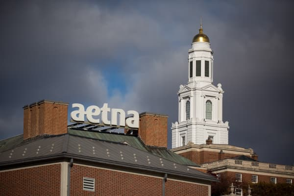 Aetna Inc. headquarters in Hartford, Connecticut