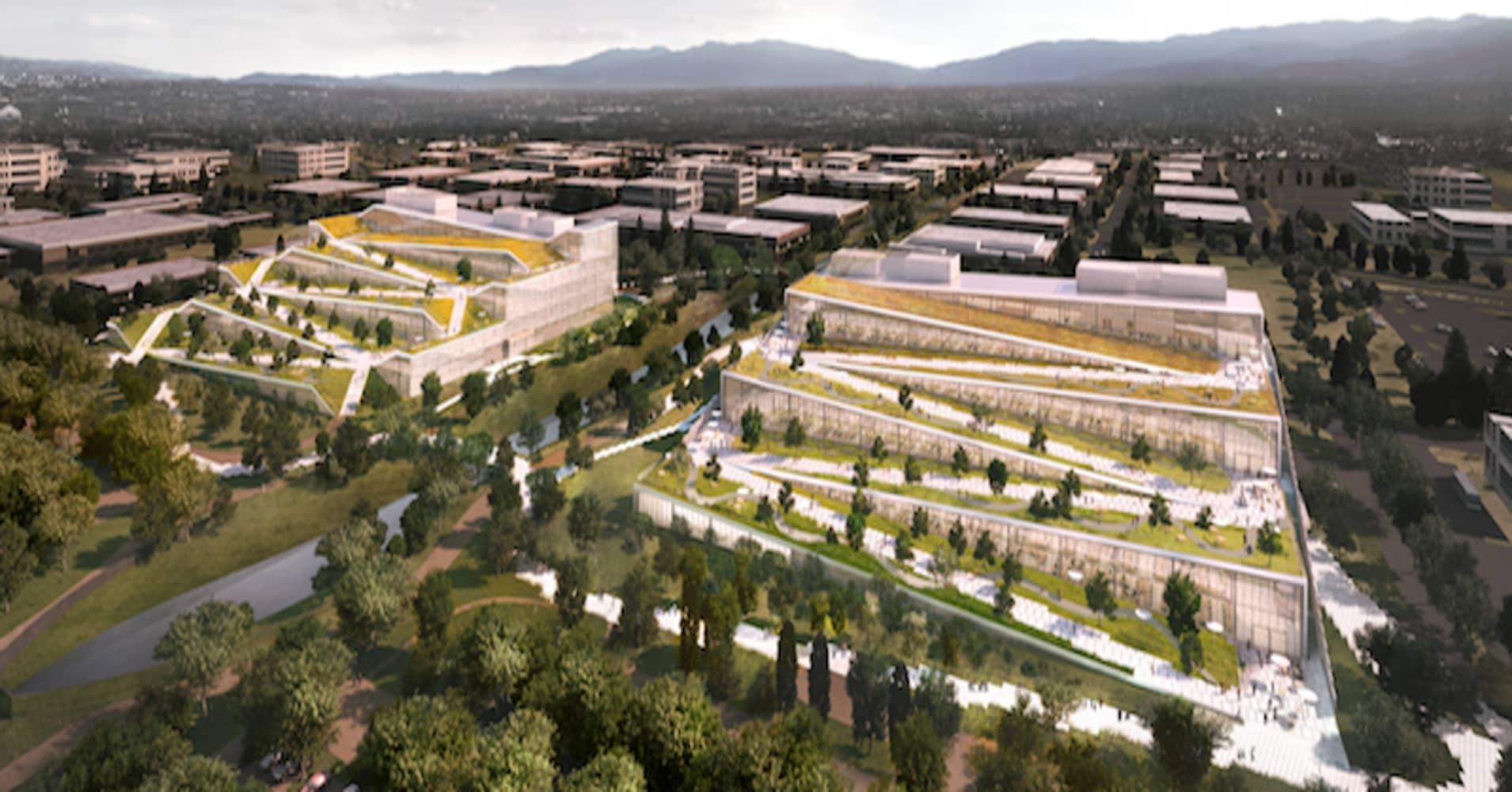 New Google Building Sunnyvale