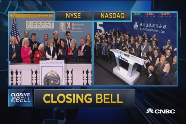 Closing Bell Ringer, December 22, 2017
