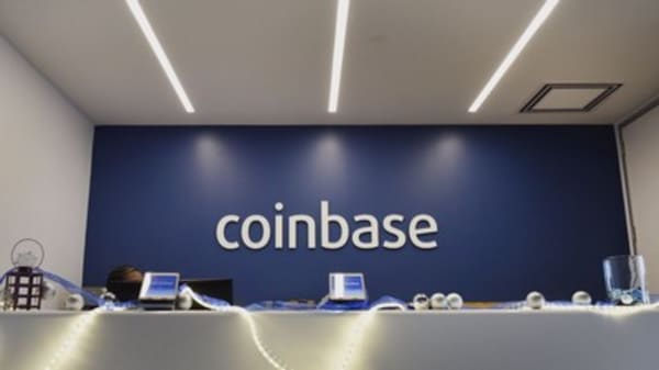 Trading goes down at Coinbase