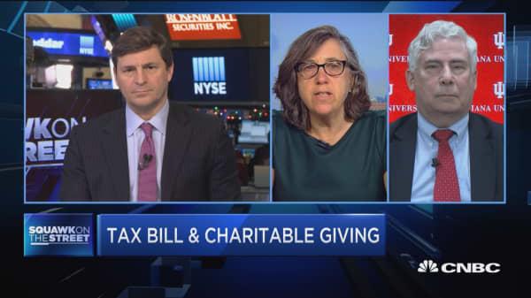 Tax reform has charities worried