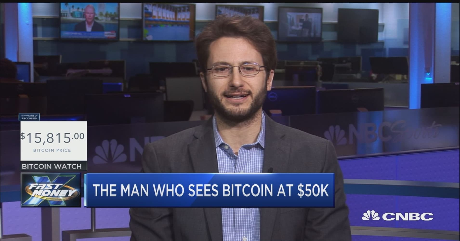 Man behind massive bet that bitcoin could hit $50,000