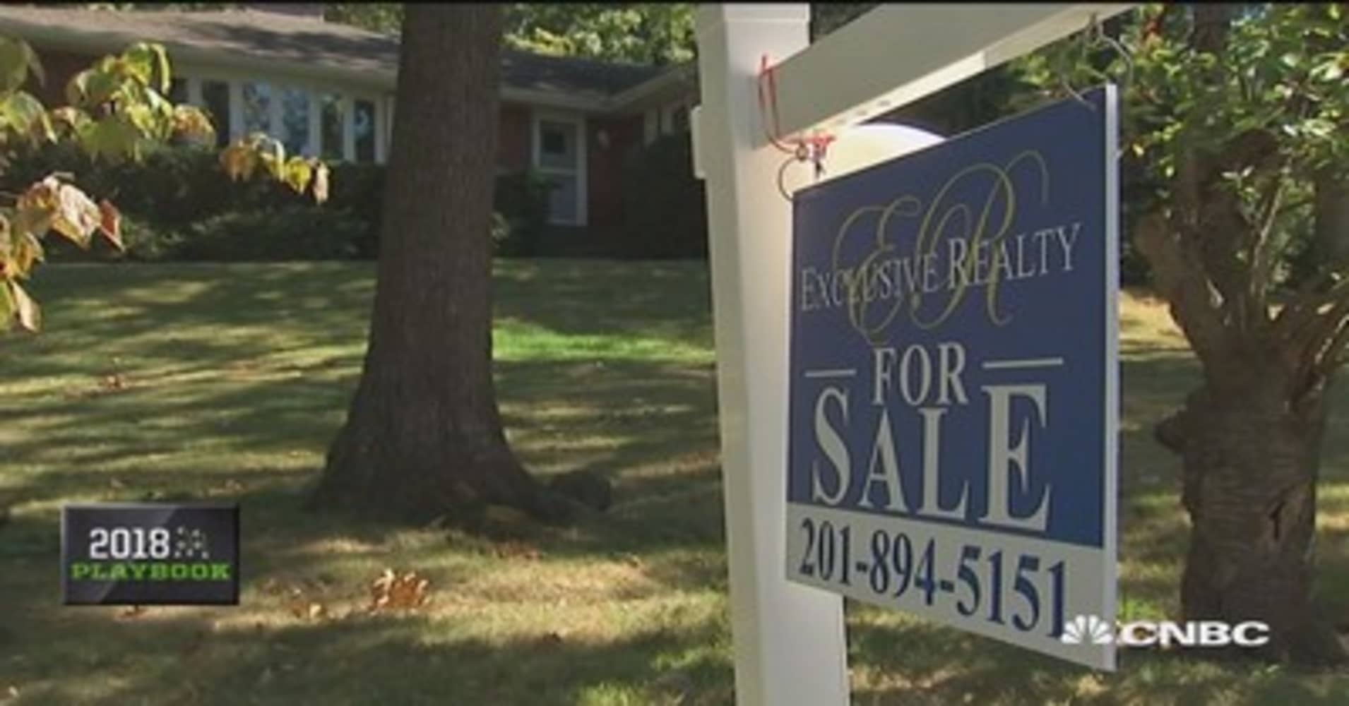 Home Prices Are Set To Soar In 2018
