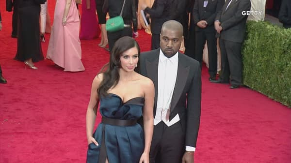 Kanye West gave Kim Kardashian stocks for Christmas