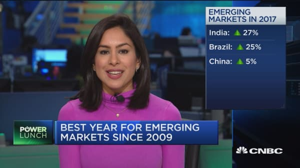 Best year for emerging markets since 2009