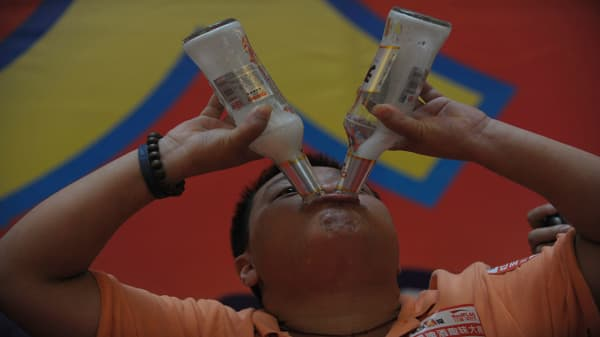 Here's how China's drinking habits are changing