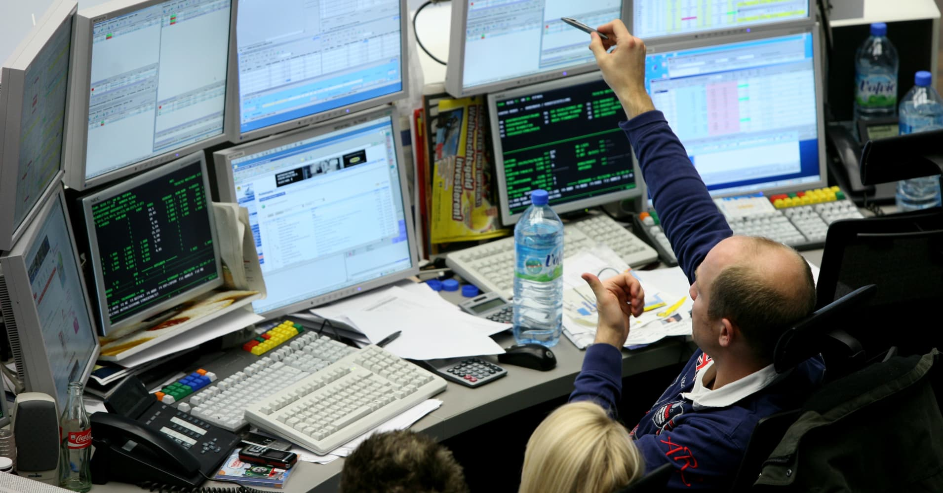 Image result for European markets close sharply lower; Germany's DAX slips 1.6%