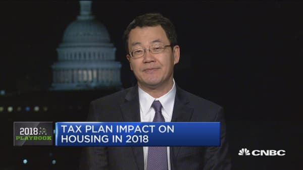 How the new tax law could affect your property value: NAR chief economist