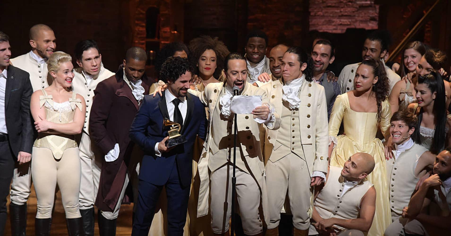hamilton musical was no overnight success says creator lin
