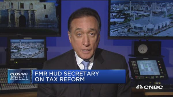 Tax bill will impact housing industry: Fmr. HUD Sec. Cisneros