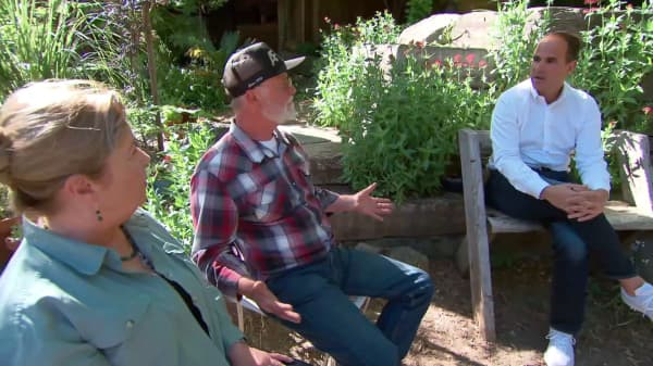 Pot farmers come out of the shadows