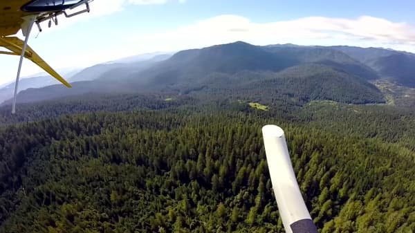 A birds-eye view of Humboldt County