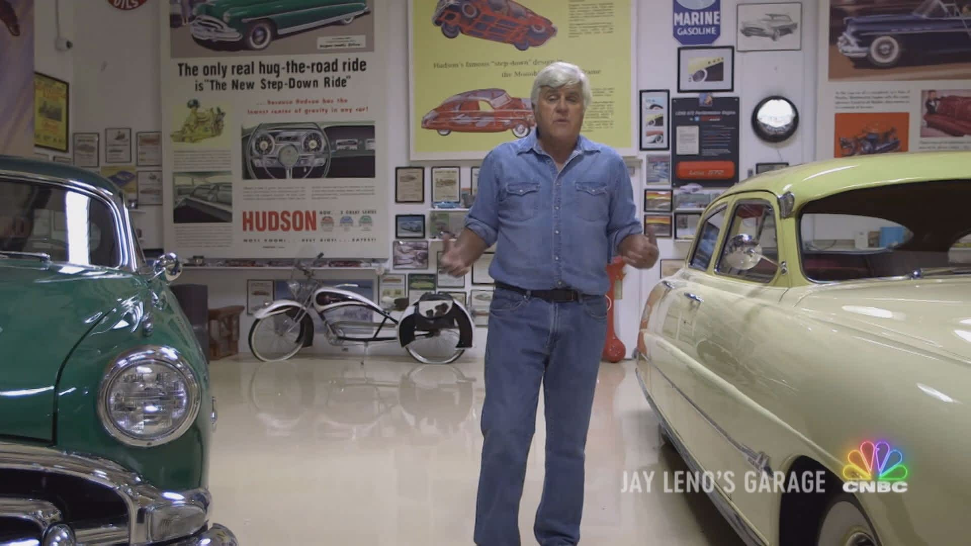 Jay Leno S Garage Videos Cnbc Prime