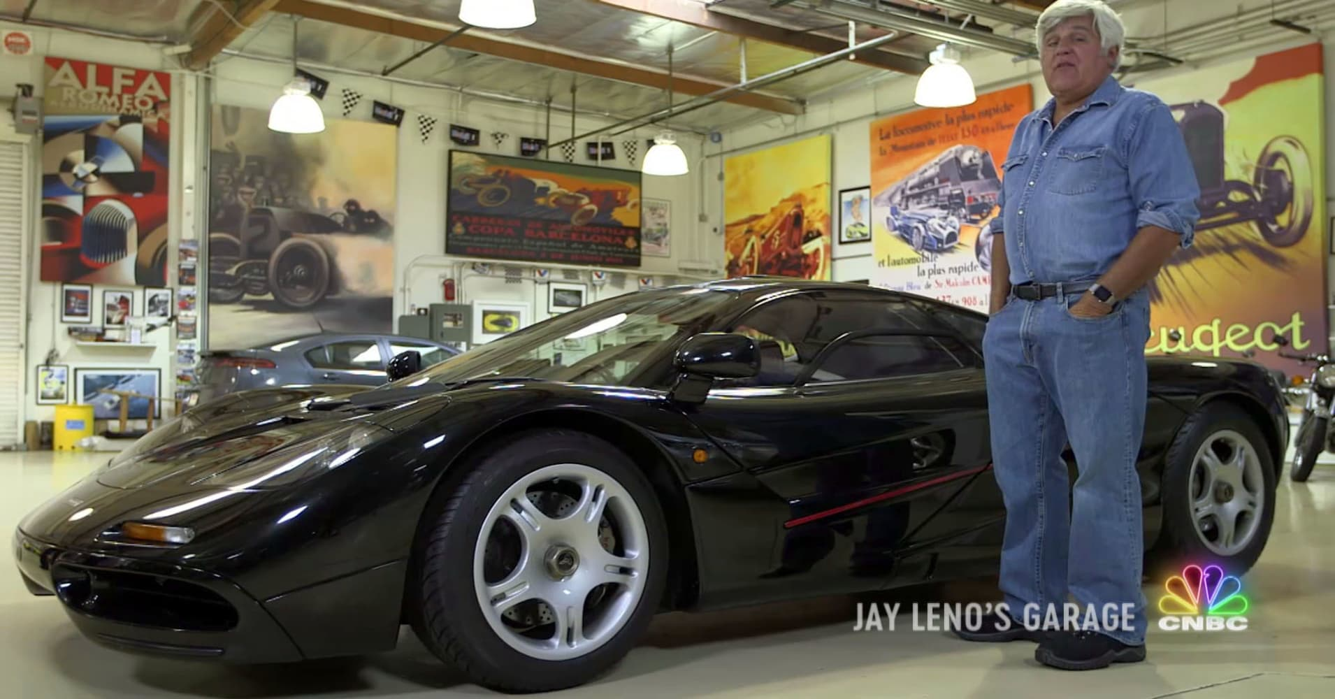 CNBC Jay Leno considers the McLaren F1 the greatest car of the 20th century