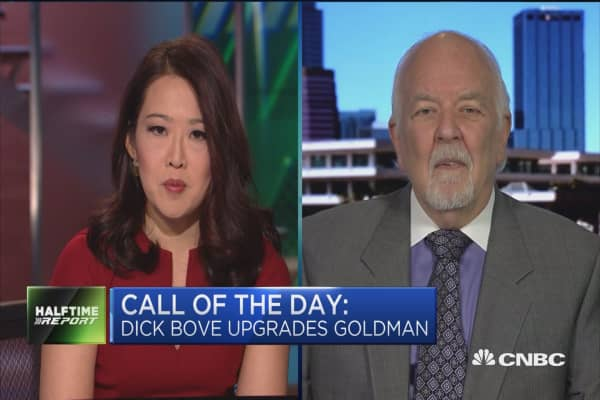 Vertical Group's Richard Bove upgrades Goldman Sachs to a 'buy'