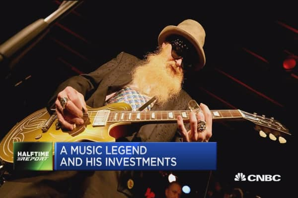 Music legend Billy Gibbons and his investments