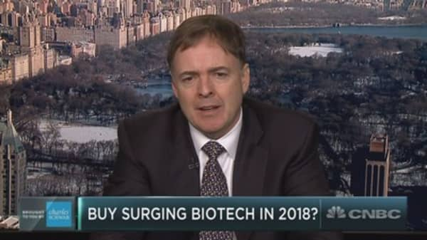 Buy the biotech boost into 2018?