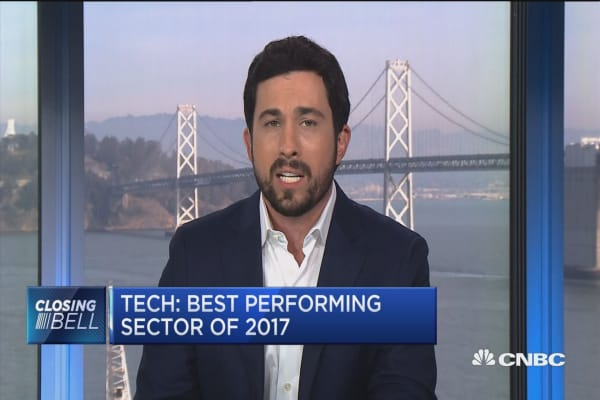 Breaking down stocks in the best performing sector of 2017