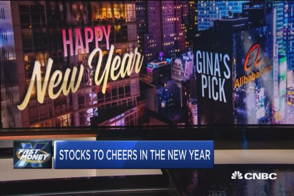 As we ring in 2018, the traders give 4 stocks to cheer to in the new year