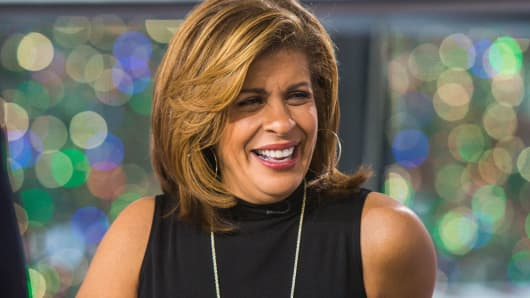 Hoda Kotb Changes Twitter Status to 'Today' Co-Anchor