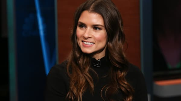 Danica Patrick, professional racing driver and author.