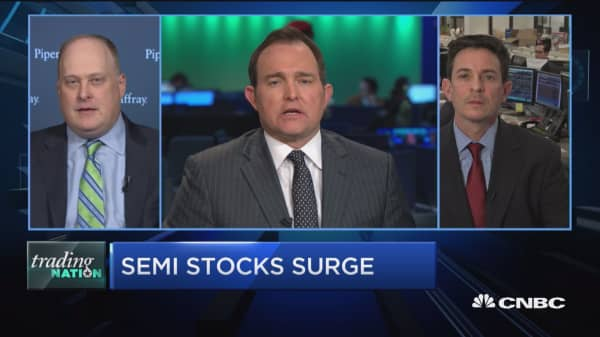Trading Nation: Semi stocks surge