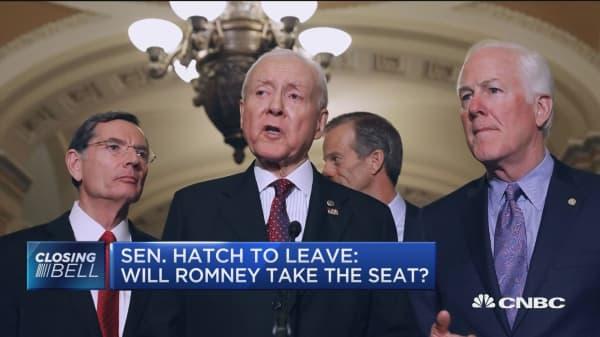 Will Mitt Romney get Orrin Hatch's Senate seat?