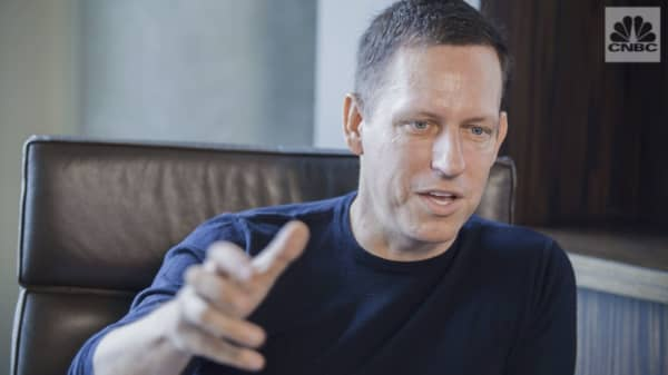 Peter Thiel's Founders Fund is reportedly buying massive amounts of bitcoin