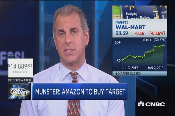 Amazon could buy Target in 2018: Gene Munster