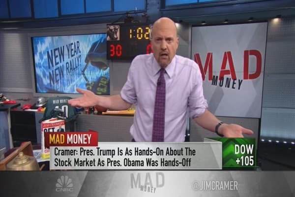 Cramer reflects on how Trump's actions are fueling the 'beast' market rally