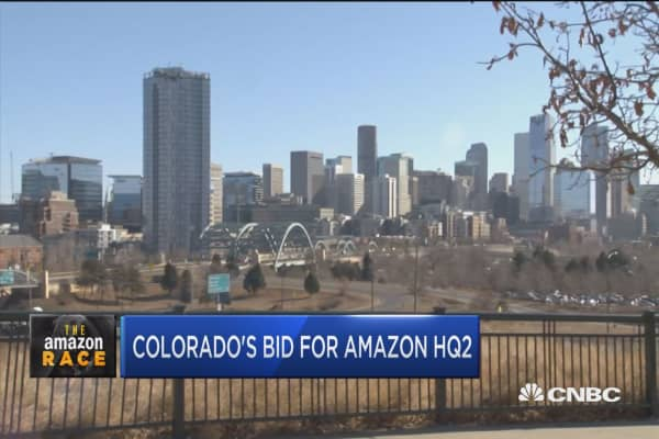 Colorado's bid for Amazon HQ2