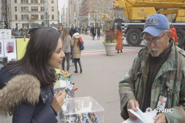 We took to the street to find out what New Yorkers have to say about bitcoin