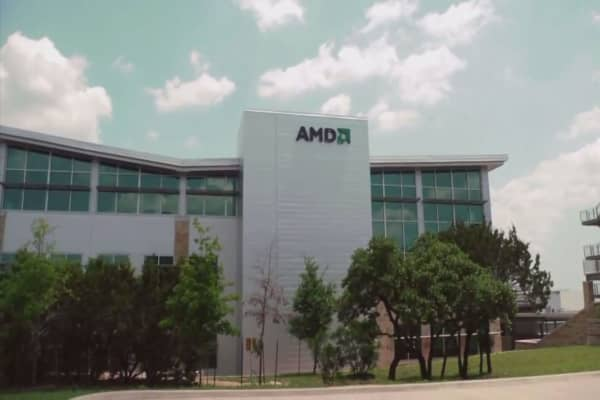AMD shares surge on report of an Intel chip security flaw
