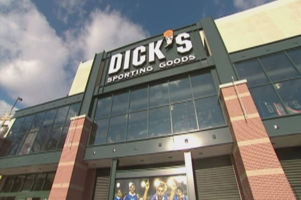 Dick's Sporting Goods could be a 'survivor' like Best Buy: Wells Fargo
