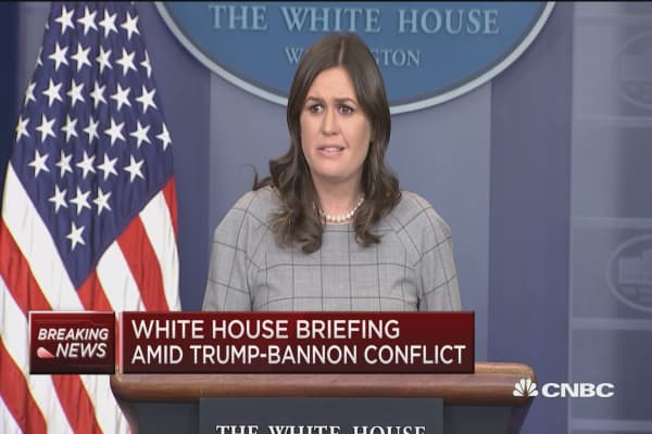White House: 'Ridiculous accusation' that Donald Trump Jr. committed treason