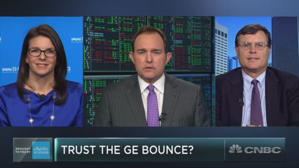 Dow stock GE catches a bid, but should you trust the bounce?