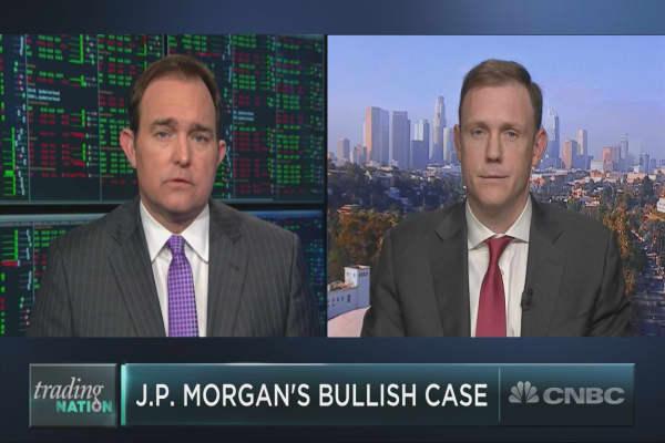J.P. Morgan's big bull case for stocks in 2018